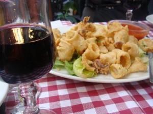 calamari-and-wine