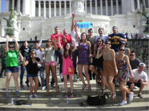 Study abroad in Rome and join clubs and organizations