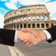 business men in Rome