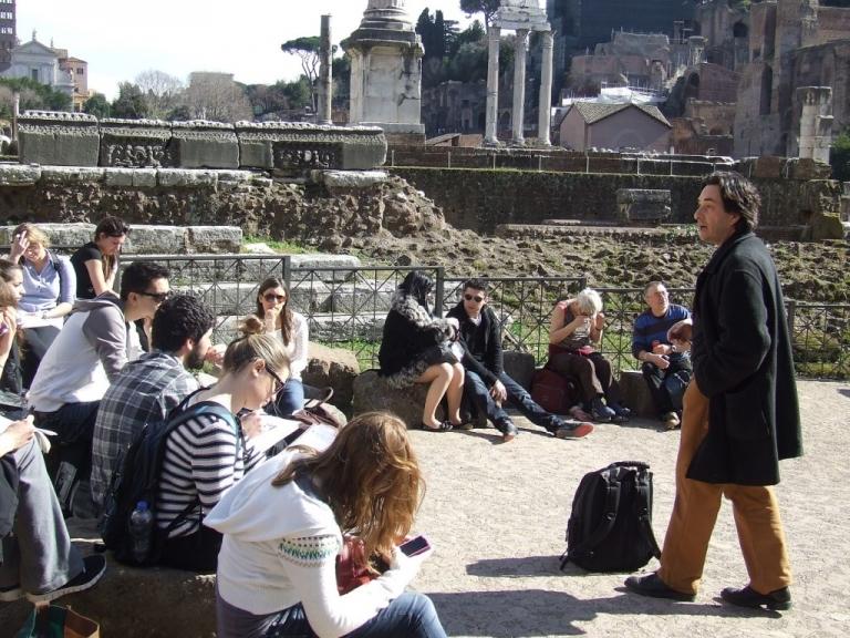 Estudiantes Colombianos en Italia