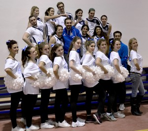 JCU Volleyball & Cheerleading Teams 2015