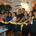 JCU students make pasta at a cooking class