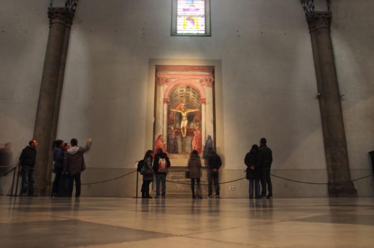The Holy Trinity at the Dominican church of Santa Maria Novella