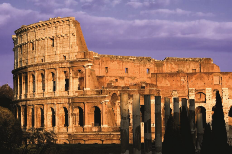 Visits to famous sites like the Colosseum are built into the JCU curriculum