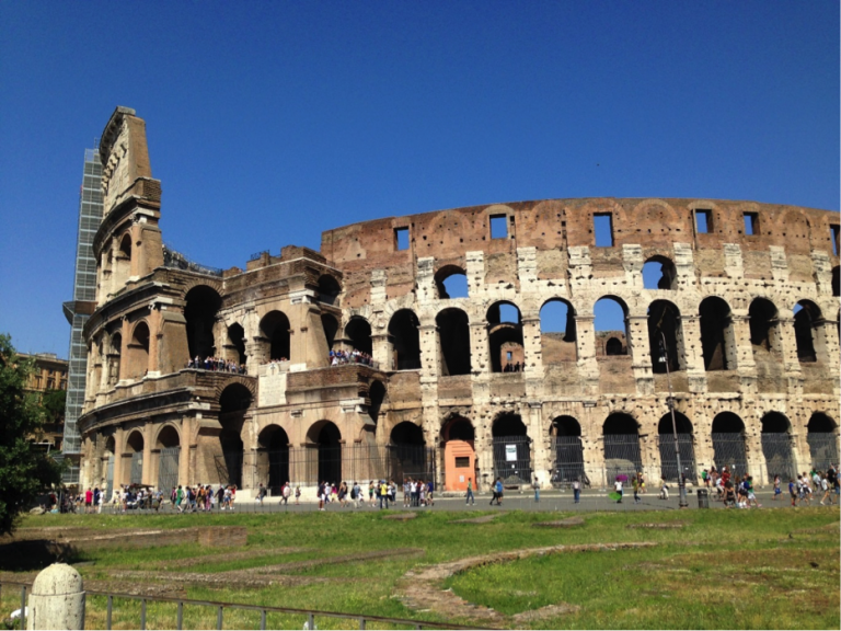 JCU students can use one of many vomitoria to enter the Colosseum