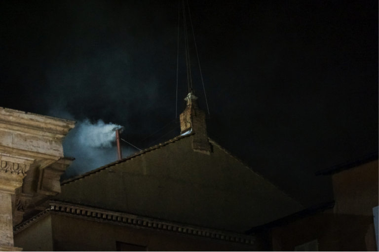 After the most recent papal conclave, Sistine smoke heralded the start of Pope Francis' reign.