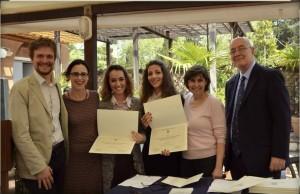 Paola Panfili Student award ceremony 2014