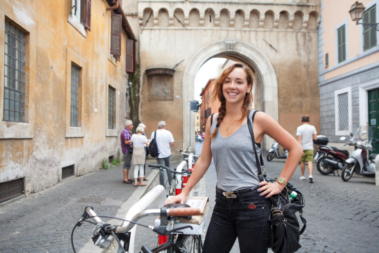 Getting out and exploring Rome is a great way to boost your mood when you're missing home