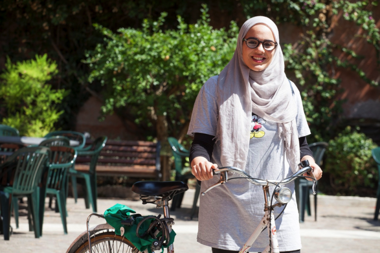 A JCU student explores Rome by 'bicicletta'
