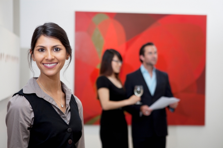 Study in Italy for access to this art curator career.