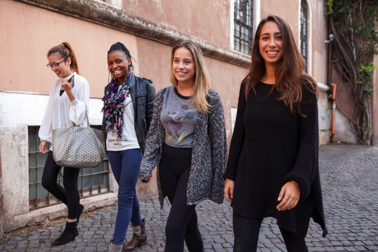 JCU students from diverse cultural backgrounds come together in Rome