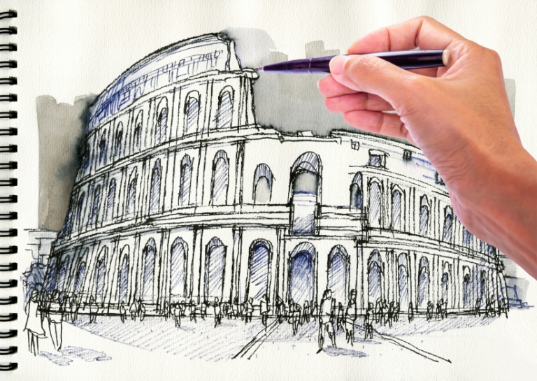 Art Classes in Italy