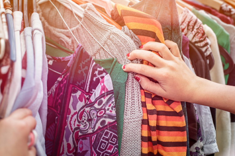 JCU students can browse through vintage clothes to grab the perfect find.