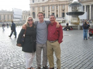 Owen Landon, father of three JCU Study Abroad Students, study abroad in Rome, parents perspective on study abroad, why you should let your children study abroad