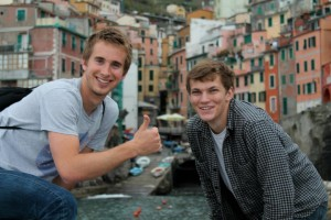 John Cabot Student Spotlight, Andrew Fink, Study Abroad in Rome,