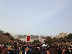 korea university, study abroad, from Rome to Korea, John cabot exchange program