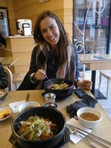 South Korea, going global program, John cabot exchange, students in Seoul, study abroad, Korean food
