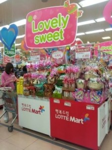 white day candy, students in South Korea, John cabot exchange program,