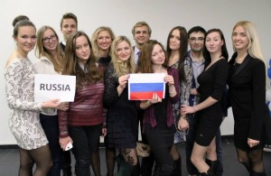 John Cabot University's Spring 2014 Russian Dinner, jcu tiber cafe, Russian students in Rome, American universities in Italy, study abroad rome, international students