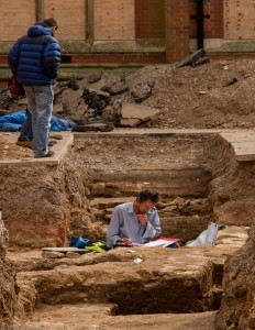 The Alberese Archaeological Field School, on-site archaeological field methodologies, study abroad in Rome, American university in Italy, Roman ruins,