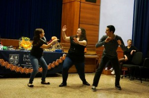 JCU Theater Society Hosts GRIMprov!, study abroad in Rome, jcu aula magna,