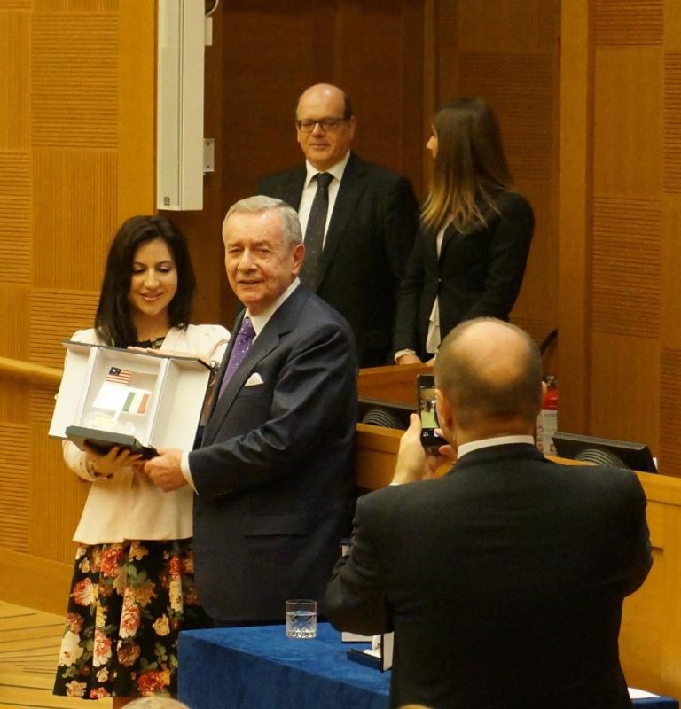 JCU Students Receive Prestigious America Award, study abroad in Rome, JCU student experiences, Italy-USA foundation