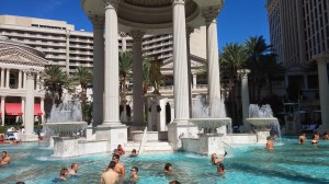 Caesar Palace Pool, The Venetian, Going Global: Fall Semester Abroad at California State University, Long Beach, jcu study abroad program, study abroad experiences