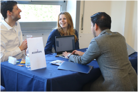 JCU's career fair can help give students a better idea of opportunities available