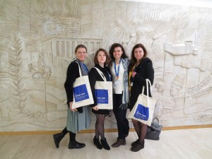 JCU Students Attend IFAD Conference, study abroad in Rome, Italy, jcu community service program,