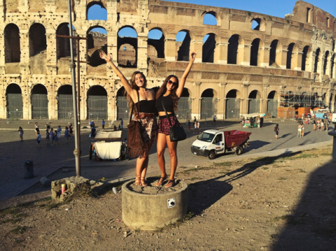 Italian-American students in Rome, Kaya Francesca Zabriskie, JCU class of 2017
