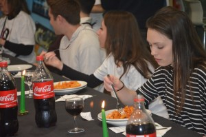 JCU Fights World Hunger with Oxfam Benefit Banquet, tiber cafe, study abroad in Rome, JCU STAND, business club