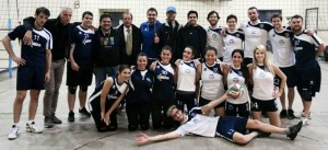 JCU Co-ed Volleyball Team 2015, JCU Gladiators, Gladiators Jump Into Busy Week of Athletics, john cabot athletics