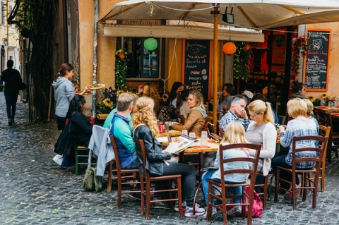 You'll learn the importance of local food when you study abroad in Italy