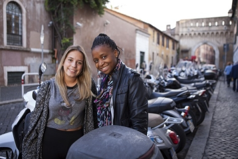 Develop the characteristics of a global citizen when you study abroad in Rome