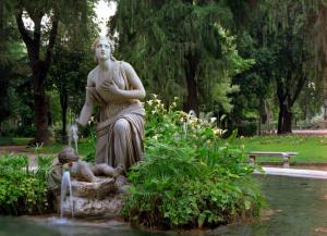 villa borghese garden, rome parks, study abroad in Rome, jcu student life, discover Rome