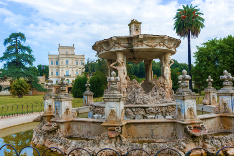 Villa Doria Pamphili, Discover Beautiful Parks and Green Spaces in Rome, parks in Rome, study abroad in Italy, places to visit when studying in Rome, students traveling abroad
