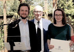 John cabot student Awards Ceremony, Anna Butuzova, JCU Class of 2015, study abroad in Rome