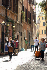 study in rome at JCU,  Fun Facts about Trastevere, study abroad in Italy, jcu student tips,