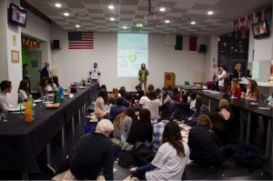 JCU students attend a presentation by Oxfam, an international NGO located in Rome, Skills NGOs Look For in New Hires, JCU career services, study abroad in Rome