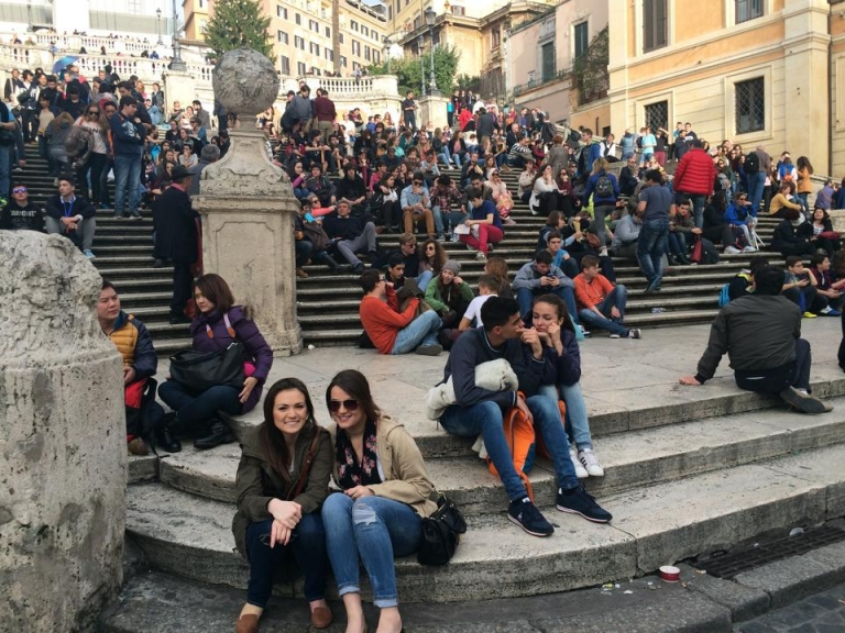 Moroccan Students in Rome