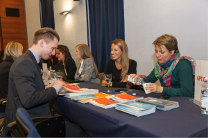 Business students at John Cabot University, JCU career fair, Boost Your Business Career with a Minor in Psychology, study abroad in Rome, choosing a minor
