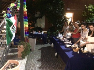 Noche de Mariachi en John Cabot, john cabot spanish speaking students, mexican students in Rome, International schools in Rome, study abroad,