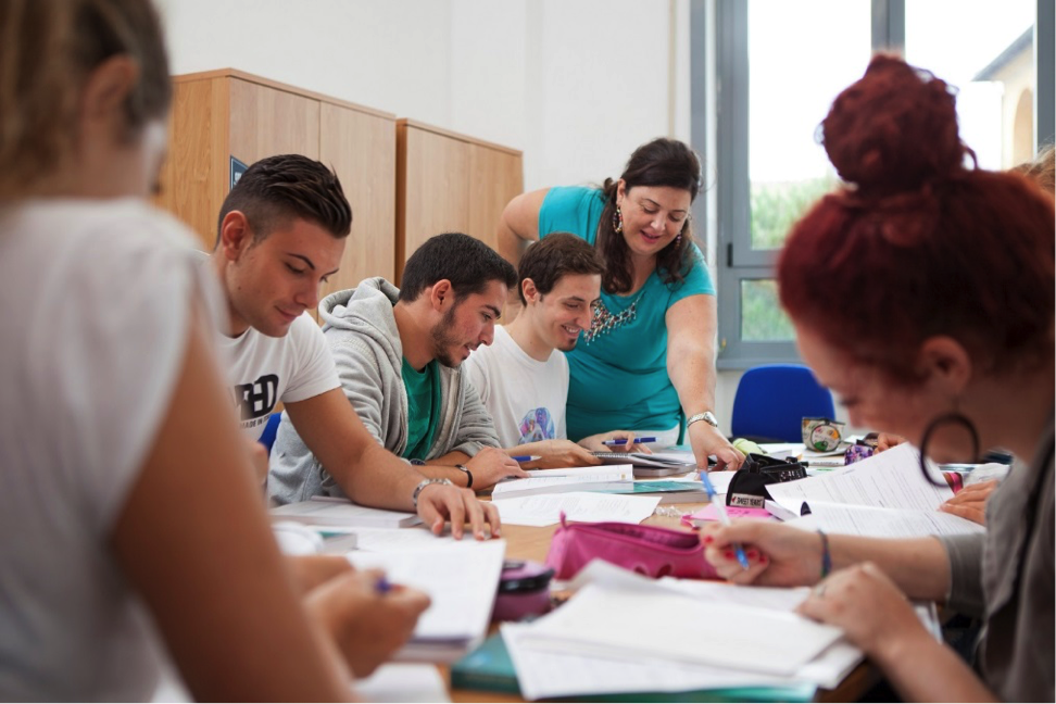 John Cabot University students hone their communication skills in small classes.