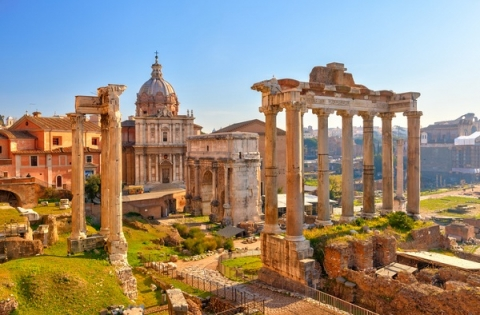 The Roman Forum is considered the centerpiece of Italy's cultural landscape