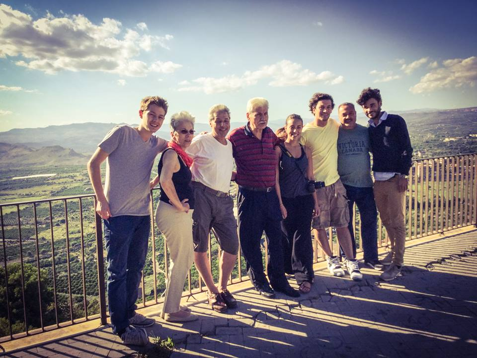 American Student with Italian Family, American Student in Sicily, Study Abroad Student Spotlight, Mike Kalmeta, JCU Class of 2018, study abroad in Rome, American universities in Italy, Paternó