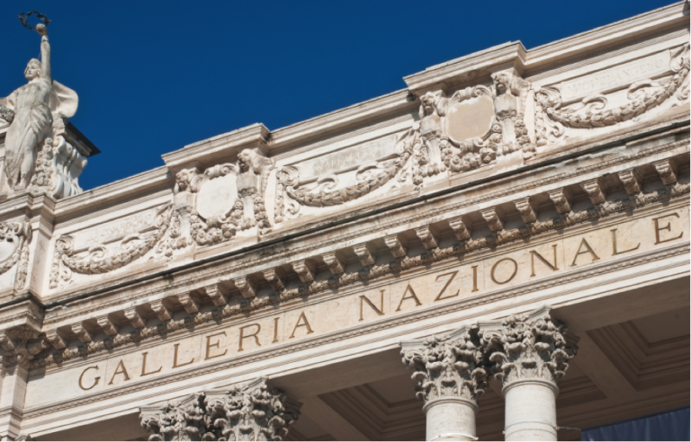 The Galleria Nazionale D'Arte Moderna is Rome's biggest modern art gallery