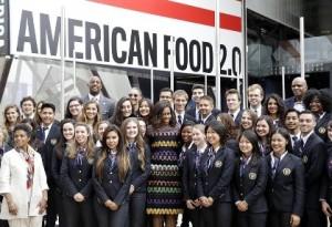 Michelle Obama, Milano Expo 2015, JCU Alumni Spotlight, Valeria Borghetti, Grazie alla John Cabot, sono entrata in Bocconi!, John cabot university student success stories, study abroad in Rome,