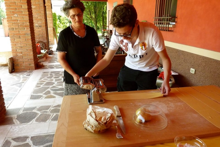 American Student in Italy, American Student in Sicily, Study Abroad Student Spotlight, Mike Kalmeta, JCU Class of 2018, study abroad in Rome, American universities in Italy, Italian pasta making class