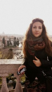 John cabot alumni Spotlight, Paola Panfili , jcu student stories, study abroad in Rome, Italy
