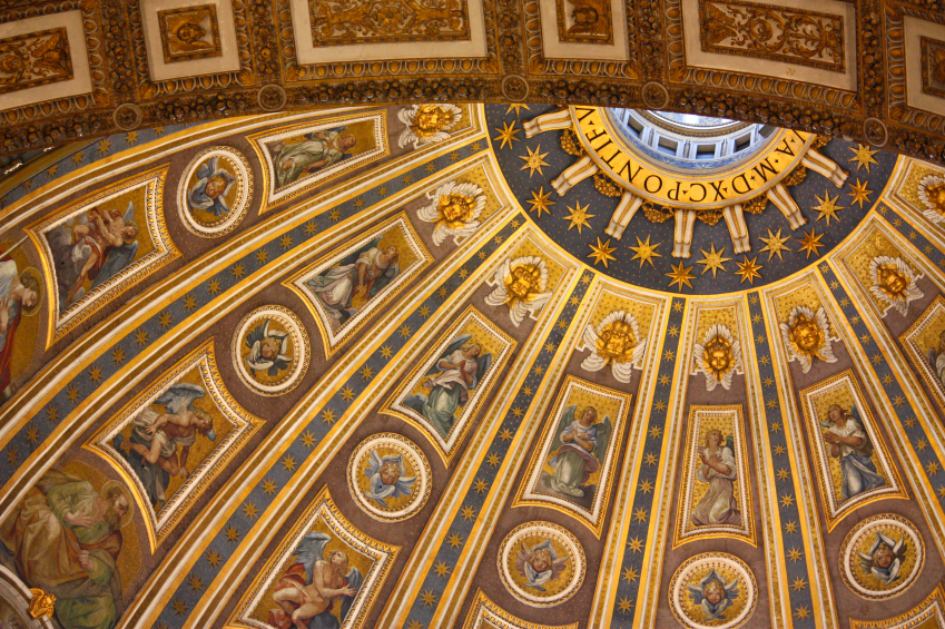 Art history degree, Art history schools in Italy, Famous Roman Mosaics, Enrich Your Art History Degree Piece by Piece, jcu art history, study art history in Rome, st. Peters basilica